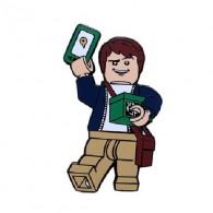 "Géocoin ""Cache Hunter Brick"""