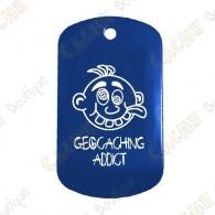 """Traveler """"Geocaching Addict"""" Menino - Azul"""