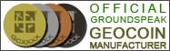 Official GroundSpeak GEOCOIN Manufacturer
