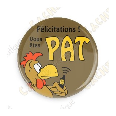 Badge PAT Coq