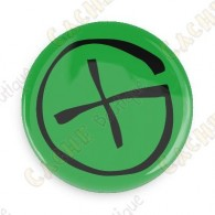 Geocaching button - Green