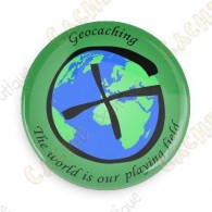 Geocaching button - Quadri