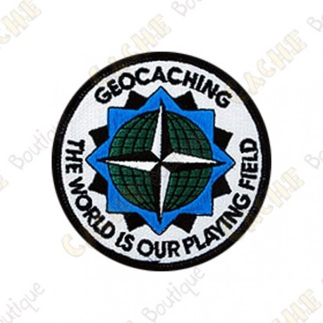 Parche geocaching - The World is our Playing Field