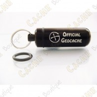 "Micro cache ""Official Geocache"" - Black"