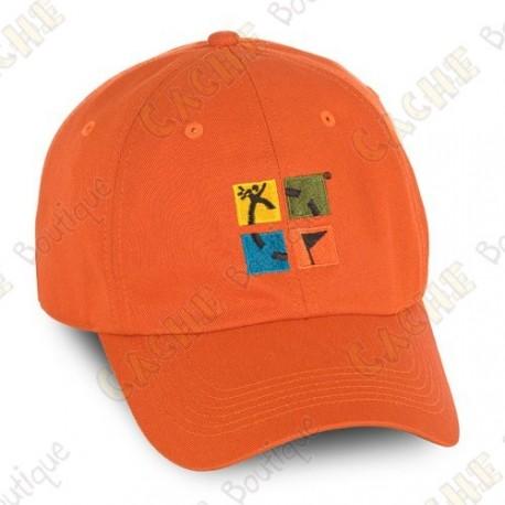 Groundspeak cap with logo - Orange