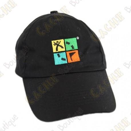 Groundspeak cap with logo - Black