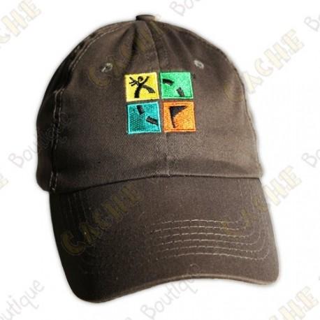 Groundspeak cap with logo - Kaki