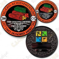 Geo Achievement® 200 Hides - Coin + Pin