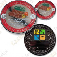 Geo Achievement® 10 Hides - Coin + Pin's