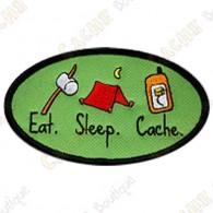 Parche geocaching - Eat - Sleep - Cache