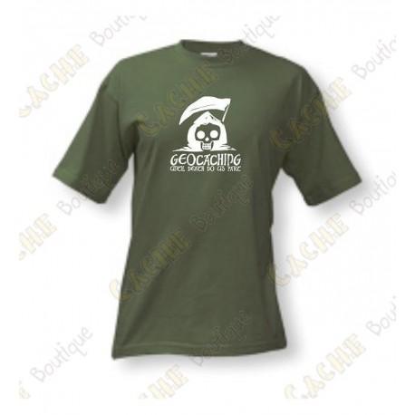 """T-Shirt """"Until Death Do Us Part"""" Homme - Kaki"""