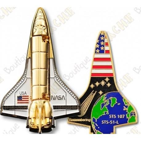 "Geocoin ""Space shuttle"""