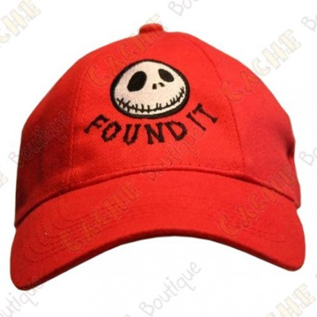 """Casquette """"Found it"""" - Rouge"""