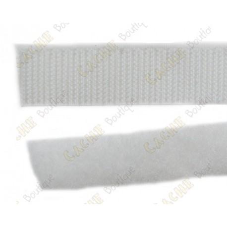 Velcro 50 cm - Blanc