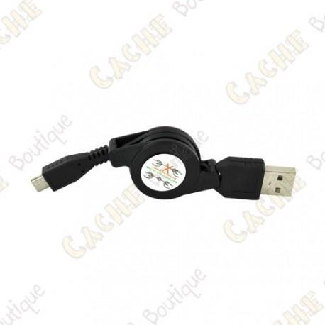 Retractable USB - Mini USB