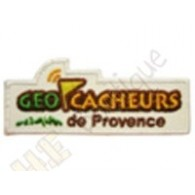 "Geocaching patch ""Géocacheurs de Provence"""