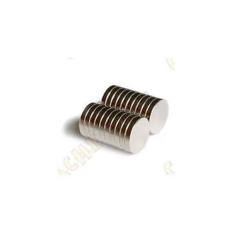 Magnets neodymes 12mm - Lot de 10
