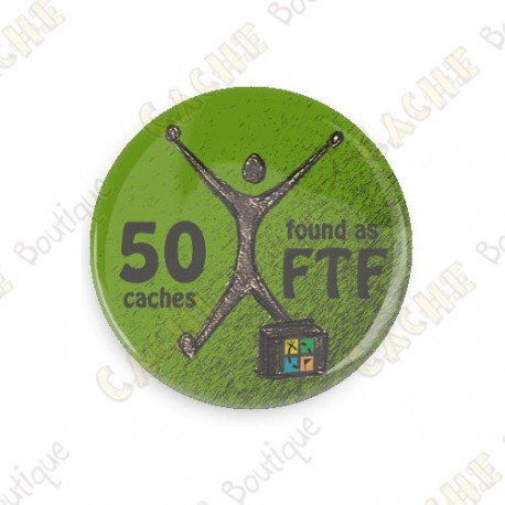 Geo Achievement Button - 25 FTF