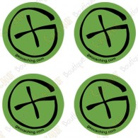 "Sticker Geo ""Round Small"" - Conjunto de 4"