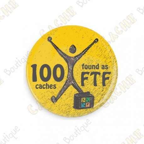 Geo Achievement Badge - 100 FTF