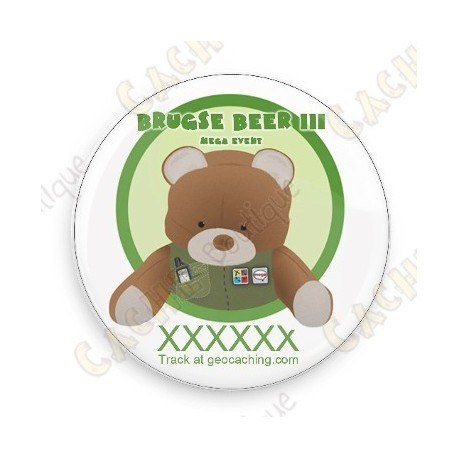 Badge Brugse Beer III - Trackable