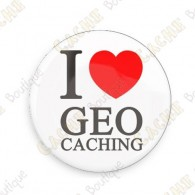 Chapa I love Geocaching
