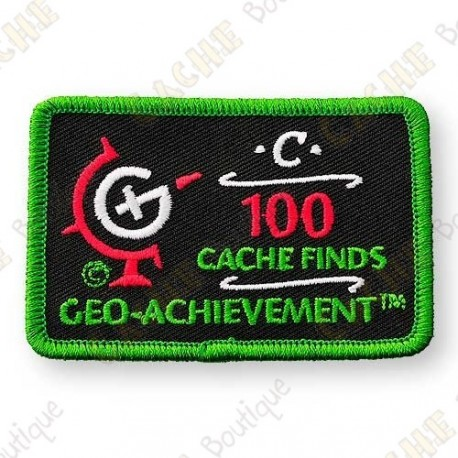 Geo Achievement® 100 Finds - Patch