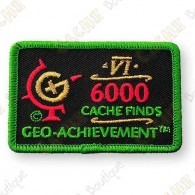 Geo Achievement® 6000 Finds - Patch