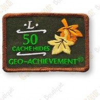 Geo Achievement® 50 Hides - Patch