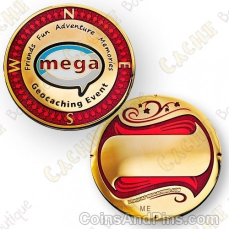 "Geocoin ""Mega Event"""