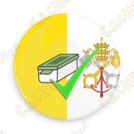 Geo Score Button - Vatican