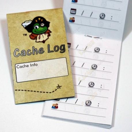 """Little logbook """"Signal Pirate"""" - A8"""