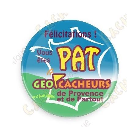 Badge Geocacheurs de Provence - PAT