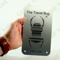 Travel bug officiel Groundspeak en version CCL