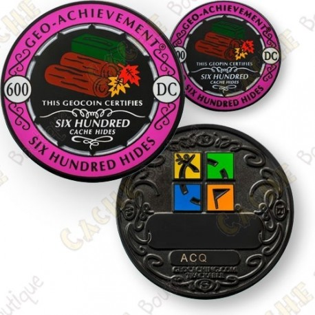 Geo Achievement® 600 Hides - Coin + Pin's