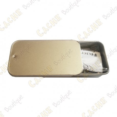 """Magnetic cache """"Tin"""" - Micro rectangle"""