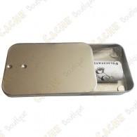 "Magnetic cache ""Tin"" - Mini rectangle"