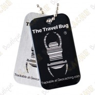 Travel bug QR - Preto