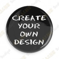 Presale.   Design your own button. Availability: Biginning of September.