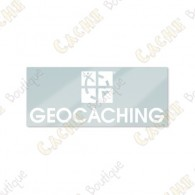 GEOCACHING inside car sticker