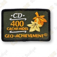 Perfect for awarding your friend our yourself for all the caches you hided.