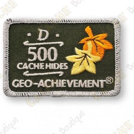 Geo Achievement® 500 Hides - Parche