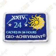 Geo Achievement® 24 Hours 24 Caches - Parche