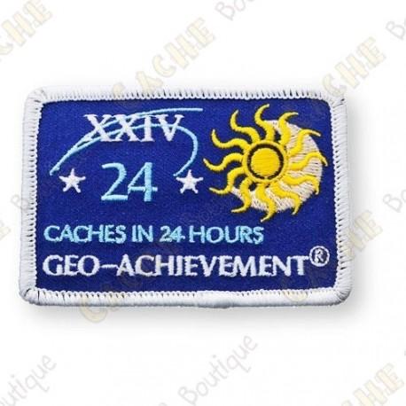Geo Achievement® 24 Hours 24 Caches - Parche
