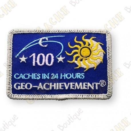 Geo Achievement® 24 Hours 100 Caches - Parche
