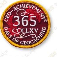 Geo Achievement® 365 Jours - Patch