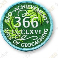 Geo Achievement® 366 Days - Patch