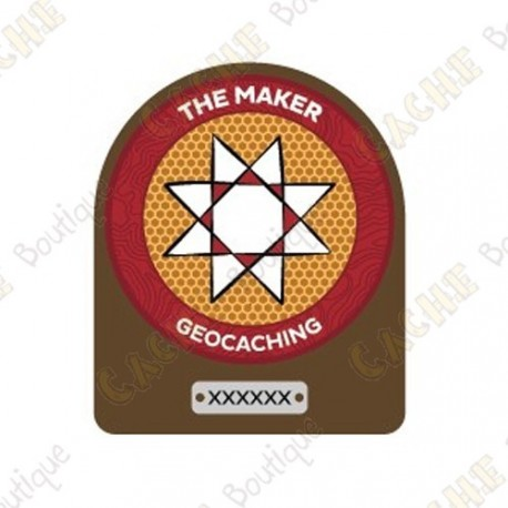 """Trackable patch """"Maker Madness"""""""