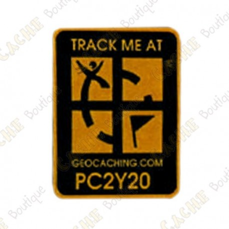 Geocaching Logo Trackable Magnet