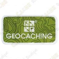 Parche geocaching con logotipo Groundspeak.